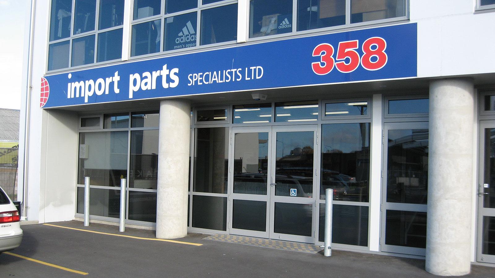 Import Parts Shop Front